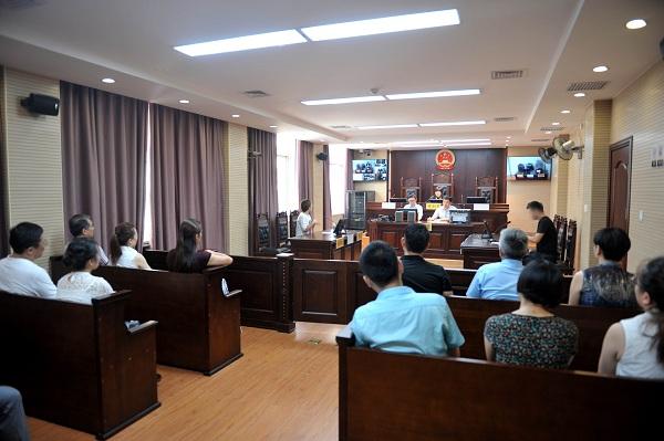 区人大代表政协委员走进法院参加开放日活动